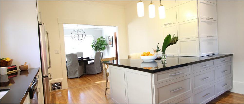 Custom Kitchen – Oakland – Adams Point